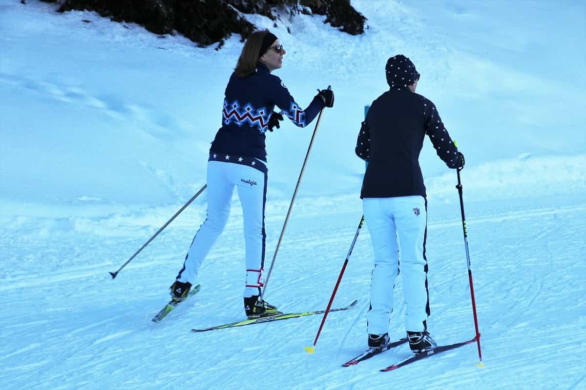 skiing is healthy