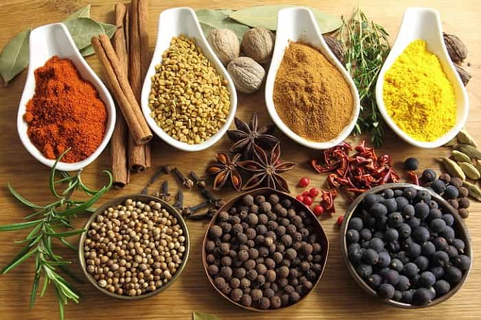 Spice your food with turmeric
