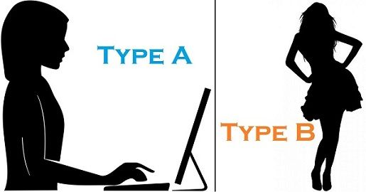 Better to be Type A or Type B?