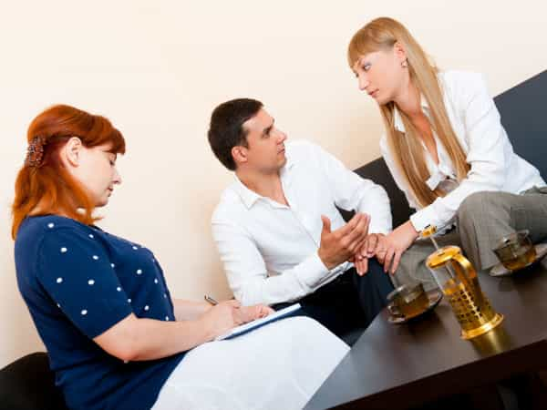 See a therapist who specializes in relationships