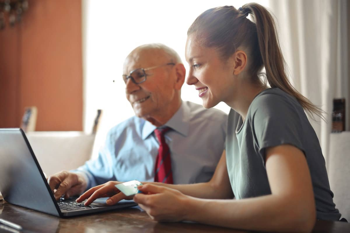 elderly parents feel comfortable at home